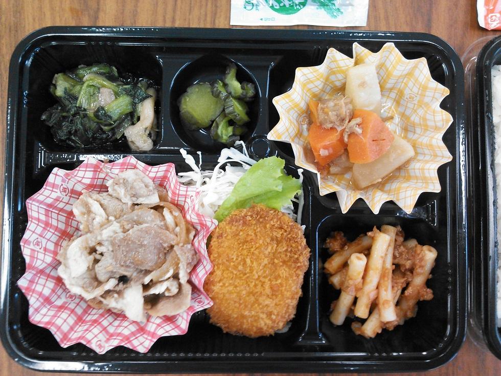 海上自衛隊の売店で売られている380円のお弁当